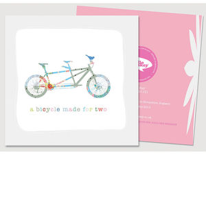Daisy Bell Card - engagement cards