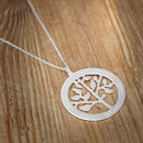 Grandma's Personalised Tree Of Life Necklace
