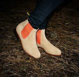 Women's Suede Chelsea Boot - shoes