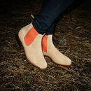 Women's Suede Chelsea Boot