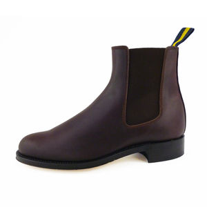 Women's Leather Chelsea Boots - women's fashion