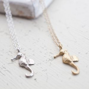 Mini Sea Horse Necklace - necklaces & pendants