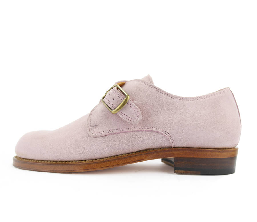 Excellent Women39s Chainey Leather Monk Shoes By Dukes Boots  Notonthehighstreet
