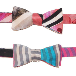 School Trip Reversible Bow Tie
