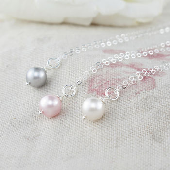 Alexia Pearl And Sterling Silver Pendant