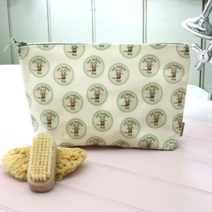 Original Oilcloth Wash Bag - baby changing