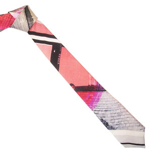 School Trip Printed Necktie - men's accessories