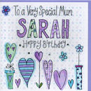 Personalised Mum Birthday Card