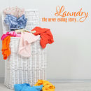 Laundry The Never Ending Story Wall Sticker