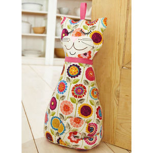 Cat Door Stop - door stops & draught excluders