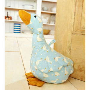 Goose Door Stop - kitchen