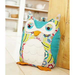 Owl Door Stop - living room