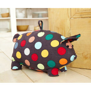 Pig Door Stop - decorative accessories