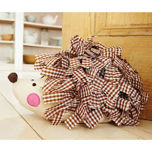 Hedgehog Doorstop - decorative accessories