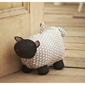 Sheep Doorstop - living room