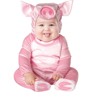 Baby's Piggy Dress Up Costume