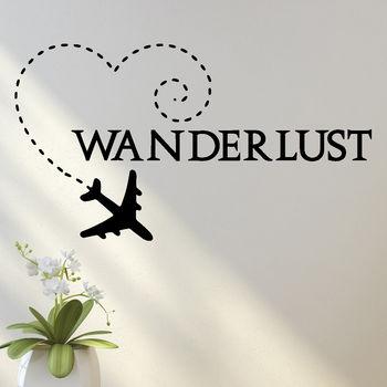Wanderlust Wall Sticker