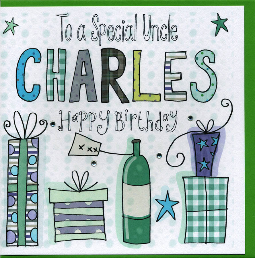 Personalised uncle birthday card by claire sowden design personalised uncle birthday card m4hsunfo