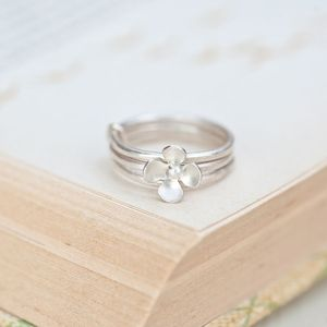 Buttercup Stack Ring - rings