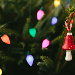 Retro Christmas Tree Fairy Lights - fairy lights & string lights