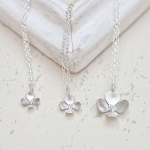 Trinity Blossom Necklace - necklaces & pendants