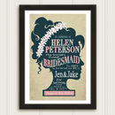 Bridesmaid Personalised Wedding Thank You Print