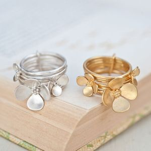 Trinity Blossom Ring - women's jewellery