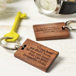 'Favourite Child' Keyring - view all father's day gifts
