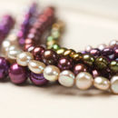 Freshwater Pearl Bracelet In Assorted Colours