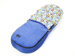 Cheeky Monkeys Footmuff - baby sleeping bags