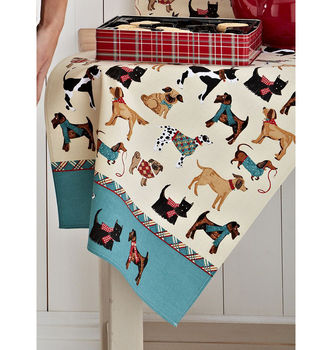 Hound Dog Cotton Tea Towel
