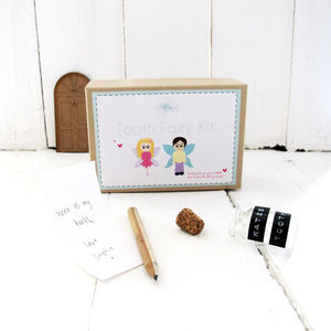 Personalised Tooth Fairy Gift Set