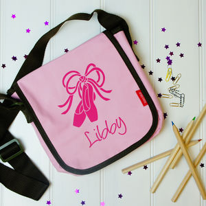 Personalised Girl's Ballet Shoes Bag - bags, purses & wallets