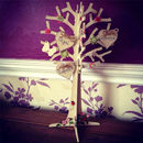 3D Personalised Wooden Family Heart Tree