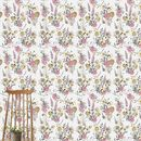 Vintage Meadow In Grey Wallpaper