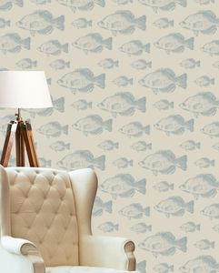 Fish Wallpaper - office & study