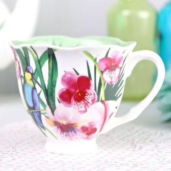 Havana Flower Tea Cup