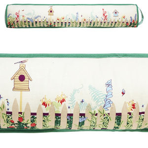 Garden Fence Draught Excluder - office & study