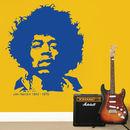 Jimi Hendrix Wall Sticker