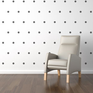 Mini Polka Dots Wall Sticker Set - decorative accessories