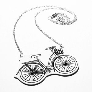 Bicycle Necklace - necklaces & pendants