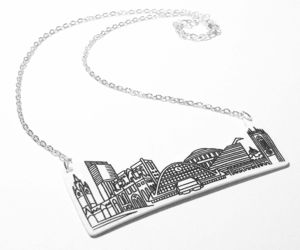 Manchester Iconic Buildings Necklace - necklaces & pendants