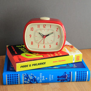 Retro Bakelite Style Alarm Clock - office & study