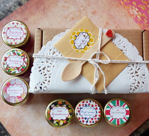 Strawberry Jam Taster Box - boxes & hampers
