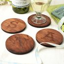 Personalised Letter Coasters