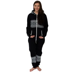 Women's Black Onesie Lounge Wear - loungewear