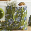 Rhs Rosemoor Green Cotton Bag