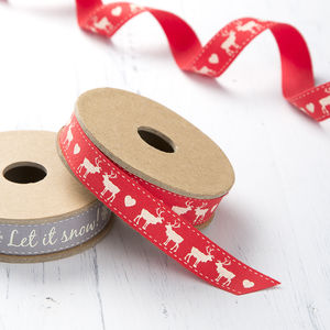 Red Christmas Ribbon