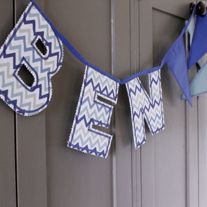 Personalised Letter Bunting - decorative accessories