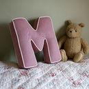 Linen Love Letter Cushion